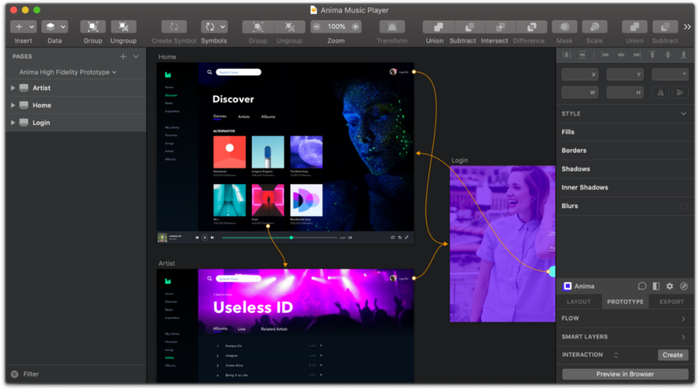 Introducing Anima 3.0 — HighFidelity Prototyping in