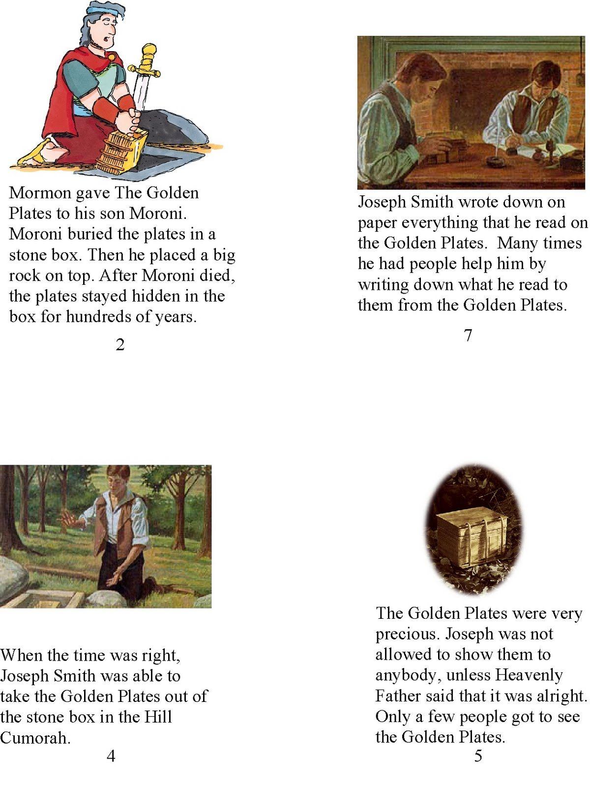HollysHome - Church Fun: Book - Joseph Smith Translates the Book ...