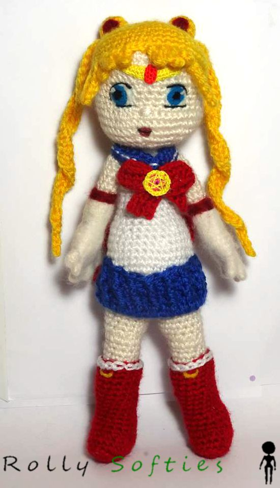 Sailor Moon] Sailor Moon | Pinterest | Patrones amigurumi, Patrones ...