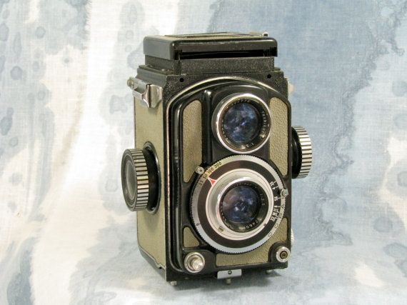 Yashica44 mini TLR film camera c1960 by northbaycameras on Etsy, $120.00