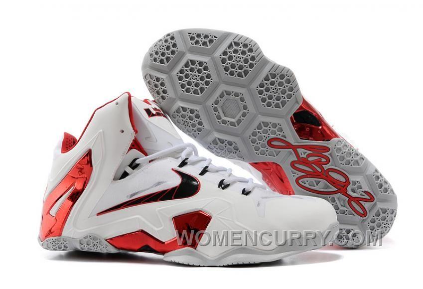 "8a68521e27b1 Nike LeBron 11 Elite ""Home"" PE Mens Basketball Shoes Online KXeAE in ..."