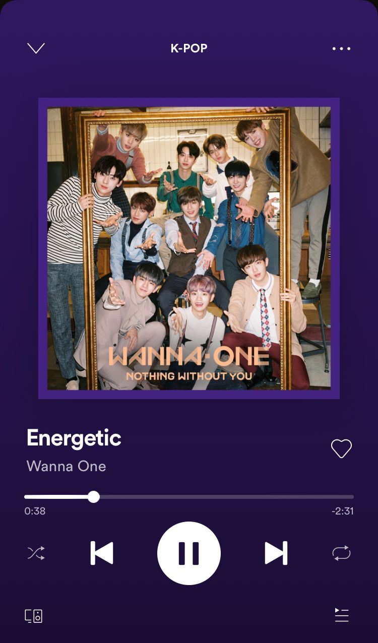 Energetic A Song By Wanna One On Spotify Songs Pop Songs Music Playlist