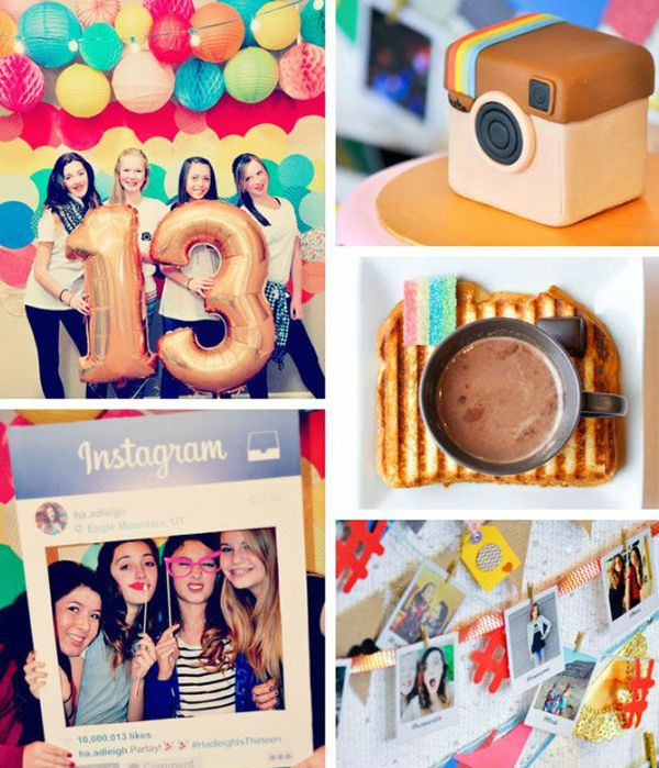 16 Teenage Girl Birthday Party Theme Homemydesign Pinterest