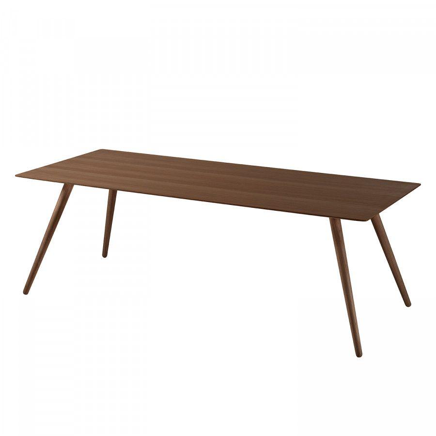 Esstisch Stave Iii 170 X 95 Cm Walnuss Mit Bildern Kuchentisch Und Stuhle Tisch Esstisch
