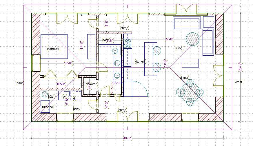Green Bale House 660 Sq Ft Www Balewatch Com Straw Bale House Little House Plans House Plans