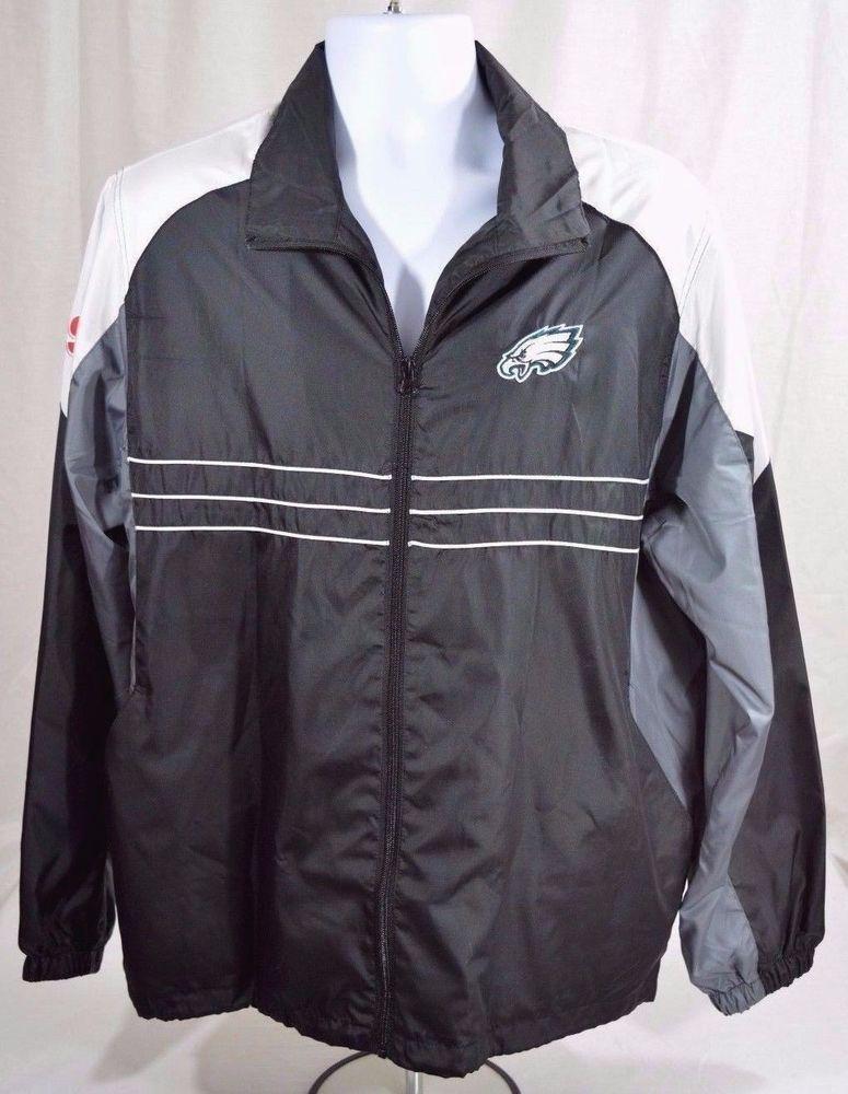 online retailer 49fbd bc506 Philadlephia Eagles NFL Sideline Jacket Reebok Windbreaker ...