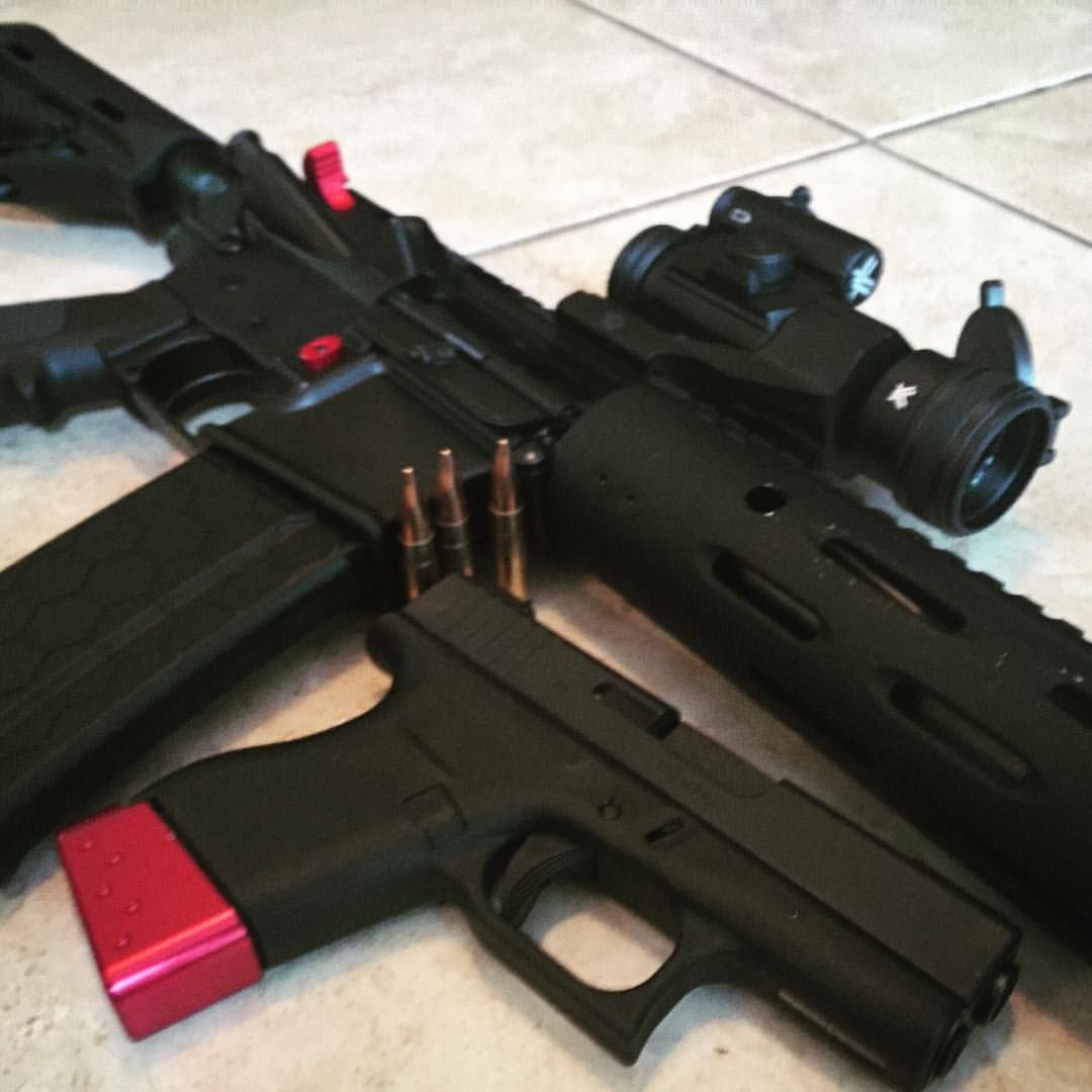 300 Blackout Rifle And The Glock 43 With Barracudatacticalcom Pin Parts List Remington 870 Tactical Upgraded Extractor Vang Comp On Magazine Extension