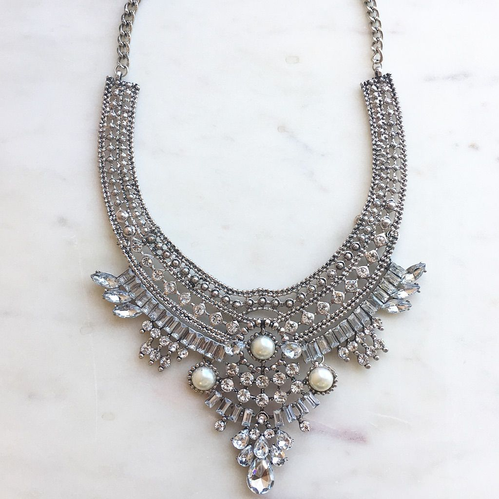 Silver Art&Deco Necklace | Products