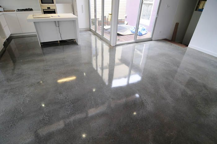 High Gloss Concrete Floors Polished Bat