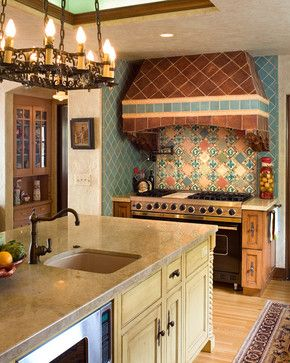 Spanish Colonial Kitchen Design | the kitchen lady ...