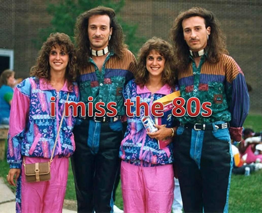 #fashion #fail #80sparty