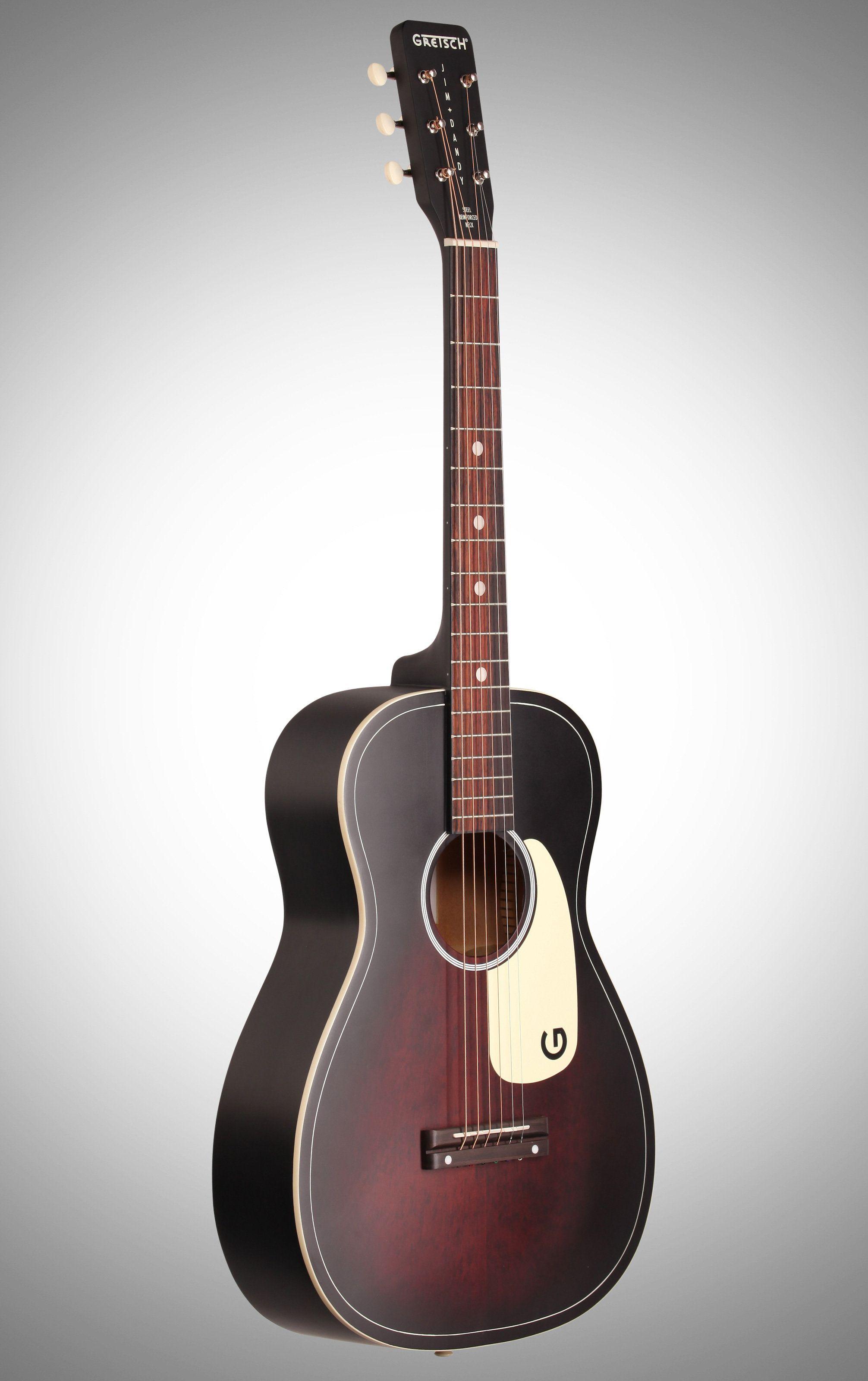 Gretsch g9500 jim dandy parlor flat top acoustic guitar