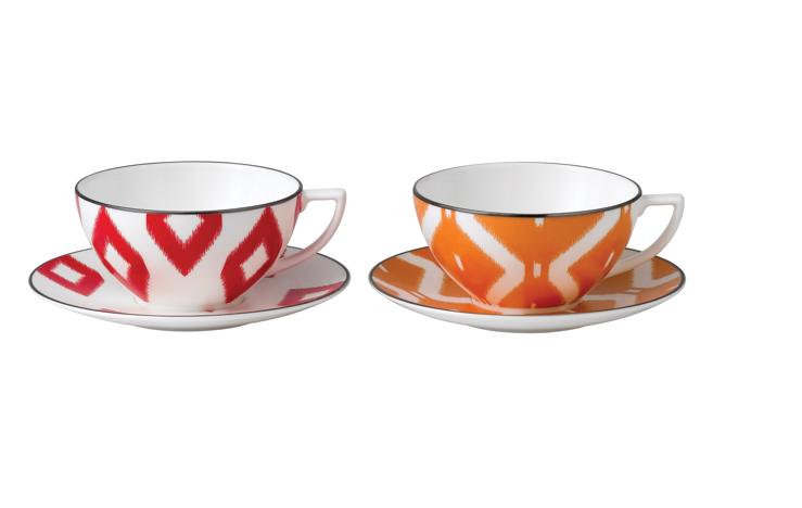 Jasper Conran Wedgewood Loving The Tribal Style Tea Cups Jasper Conran Wedgwood Tea Cup Saucer