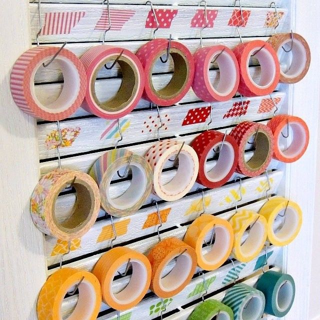 "@Liona Jeane Guzman's photo: ""Day 13: Washi Rolls #ohsnapaday This is not my photo but wouldn't it be nice if you had this in your house/craft room? :) #craftsupply #crafthaul #washi #papertape"""