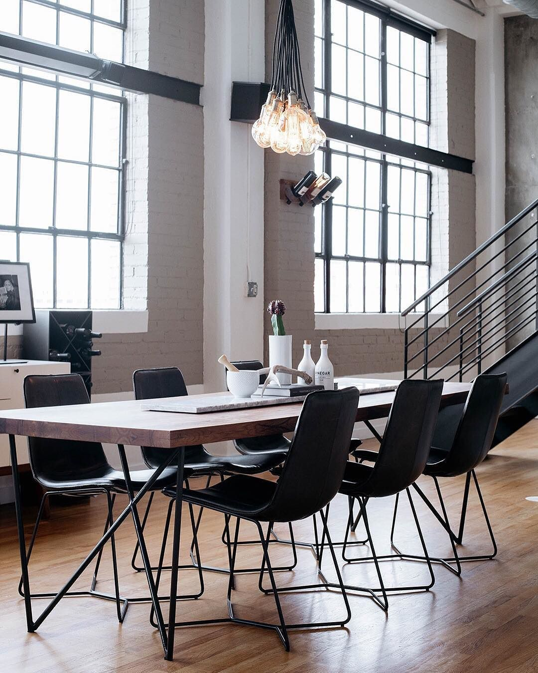Take a look at this salt lake city loft designed by mabeadesign