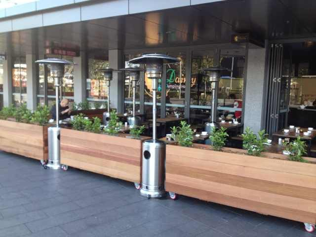 Smart Us Of Cedar Dining Barriers And Gas Heating