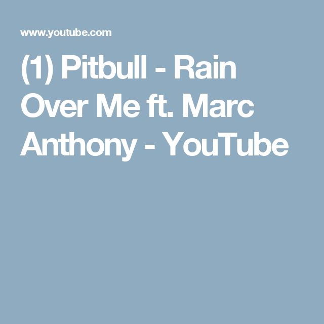 Pitbull rain over me ft. Marc anthony • need for speed edition.