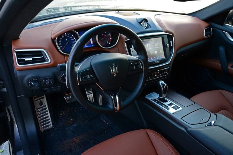 2017 Maserati Ghibli S Q4 Grey With Brown Interior