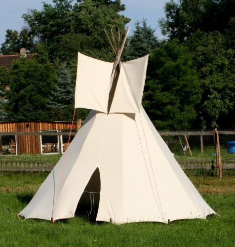 Stay in a Traditional Tipi on an Indian Reservation in South