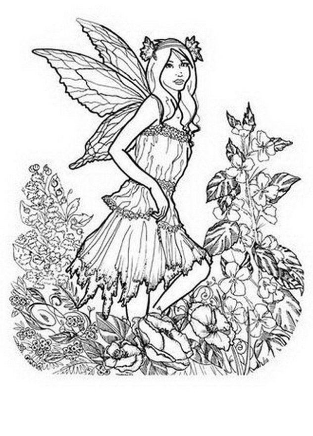 Juego Para Pintar Hadas Para Niñas Y Chicas Gratis Dibujos Para Dibujos De Hadas Dibujos Para Colorear Libro De Colores