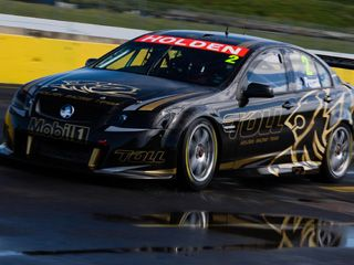The Holden Racing Team S All New 2013 Car Of The Future Specification Commodore Has Hit The Test Track For The First Ti V8 Supercars Australian Cars Super Cars