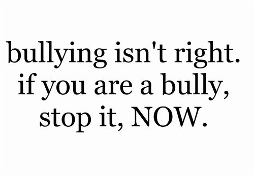 stop bullying | Tumblr