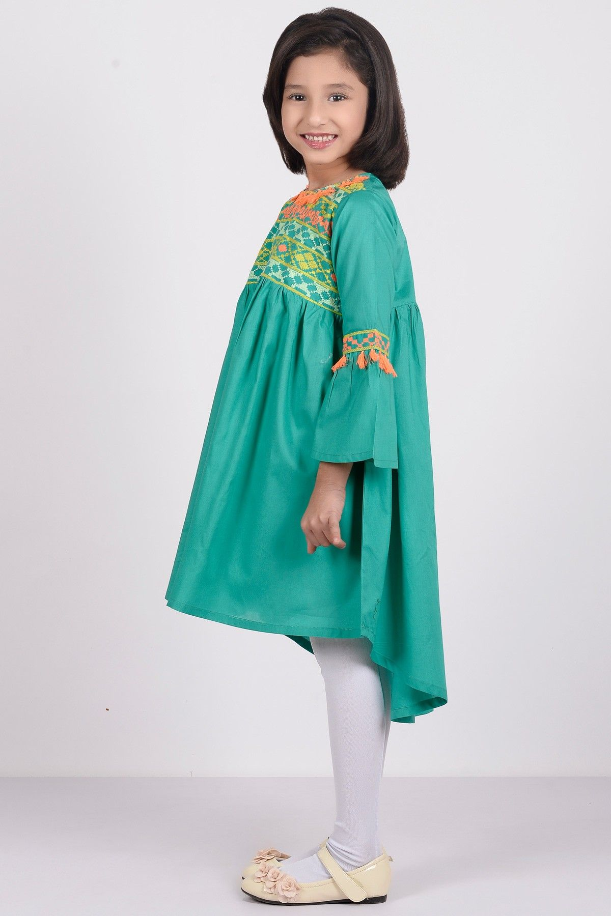Khaadi - Embroidered Dress - Kids | Khadi | Pinterest | Girls ...