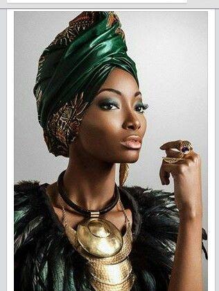 Sleek and flawless. #afrikanischerstil