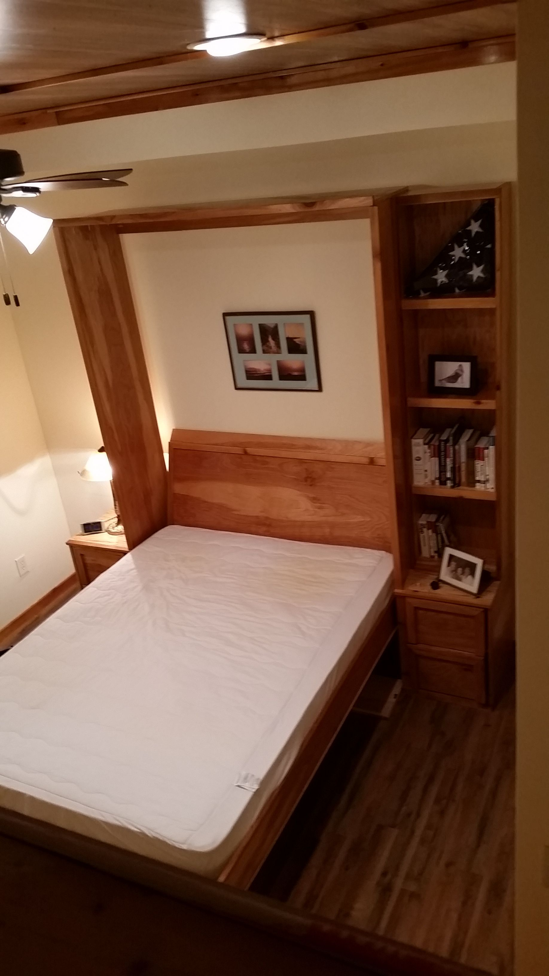 Diy Murphy Bed Without Expensive Hardware B Boat Swivel