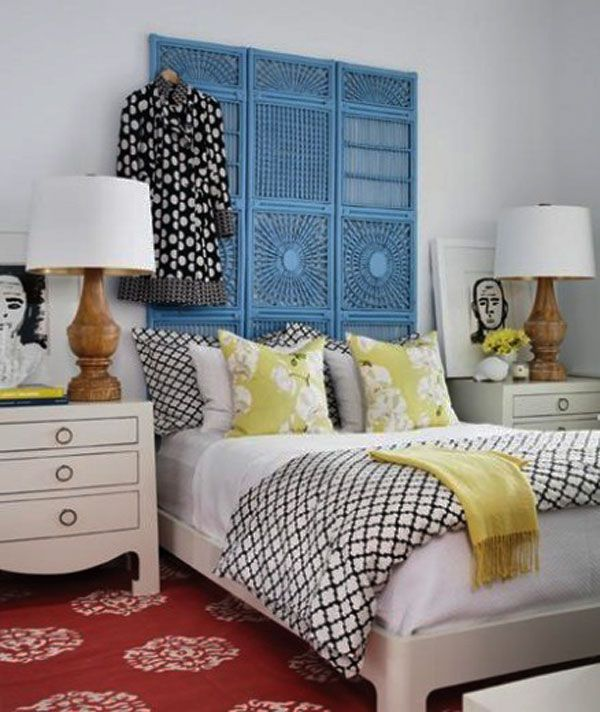 Bon 35 Cool Headboard Ideas To Improve Your Bedroom Design Iu0027d Have To Grab  Just One Panel And Turn It 90 Degrees But Something Like That Could U2026