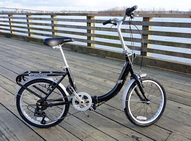 442c165f1e9 Schwinn Loop 20 Folding Bike Review - Swipe left/right to see more Schwinn  the