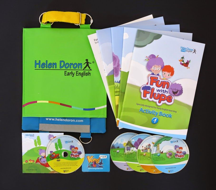 Non Native Mommy Fun With Flupe The New Helen Doron Package Helen Doron English Fun Happy Kids