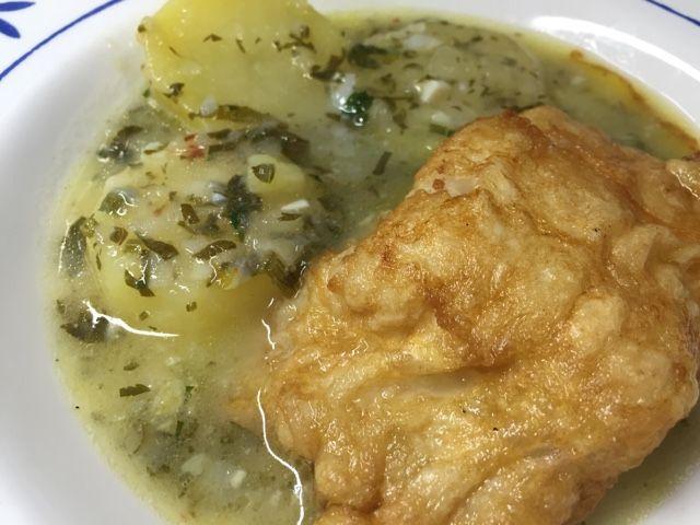 Como Cocinar El Bacalao Fresco | Un Padre Cocinillas Bacalao Fresco Con Patatas En Salsa Verde