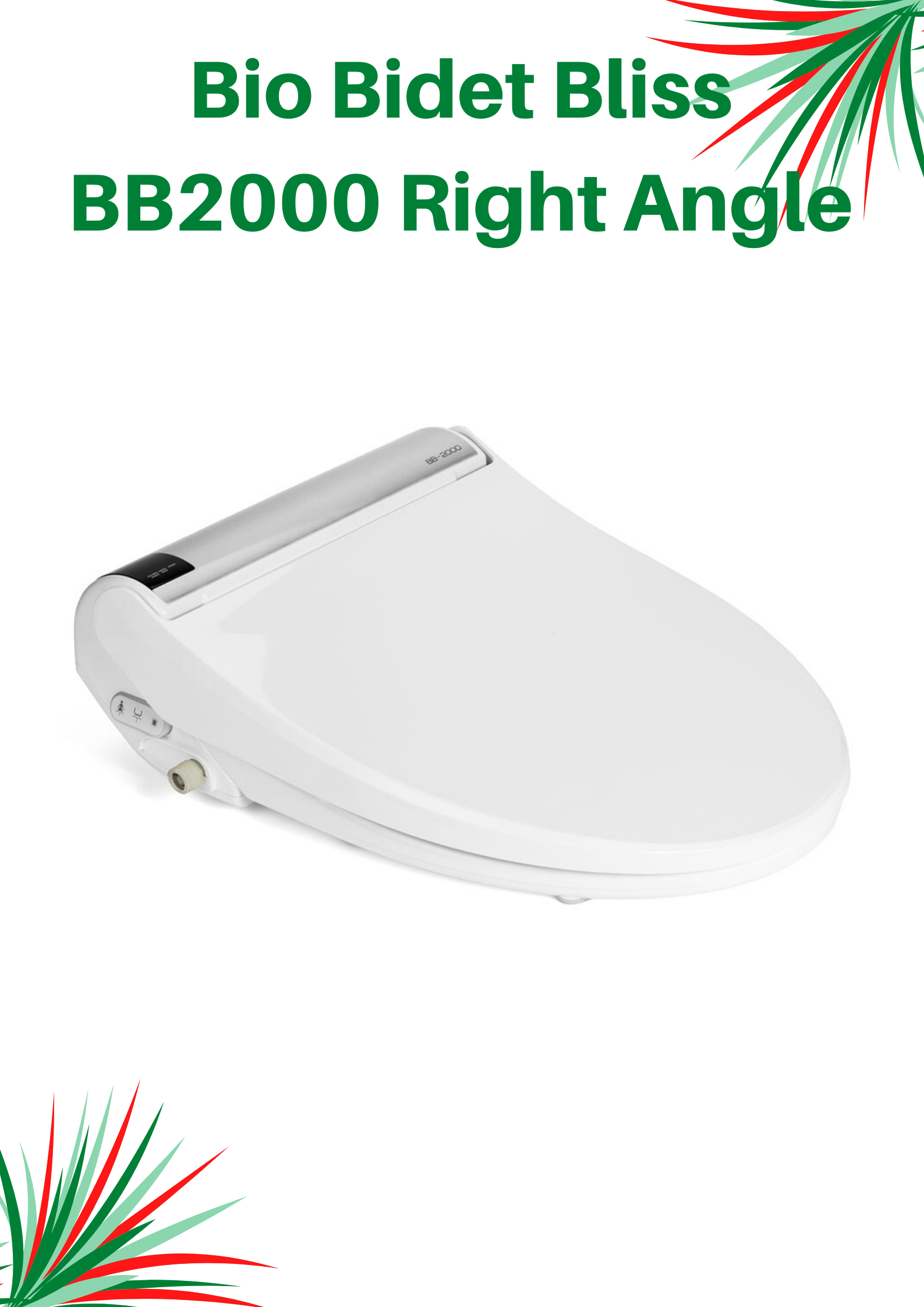 Biobidet Bliss Bb2000 Elongated Toilet Seat S Right Angle View In 2020 Biobidet Bidet Elongated Toilet Seat