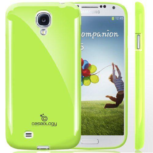 Caseology Samsung Galaxy S4 [Retro Flex Series] - Slim Fit TPU Protector Shock Absorbent Bumper Case (Lime Green) [Made in Korea] (for Verizon, AT&T Sprint, T-mobile, Unlocked) Caseology,http://www.amazon.com/dp/B00BUDLBK4/ref=cm_sw_r_pi_dp_zYD2sb1GPQRVM3HH