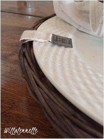 riviera maison rustic rattan plate, rottinkilautanen