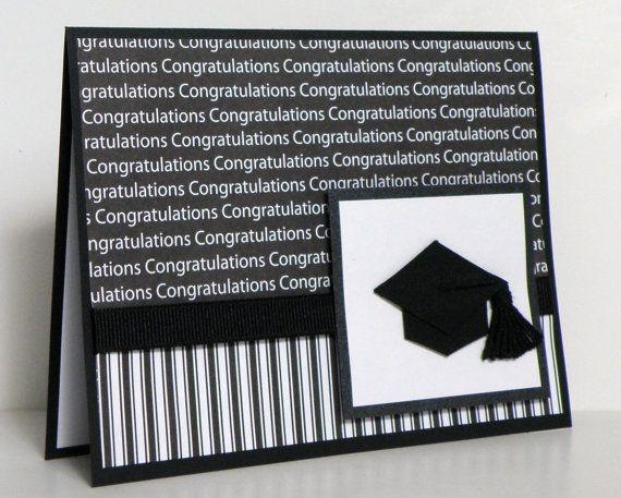 Photo of Artikel ähnlich wie Handmade Graduation Card – Herzlichen Glückwunsch – Cap and Tassel – 2014 auf Etsy
