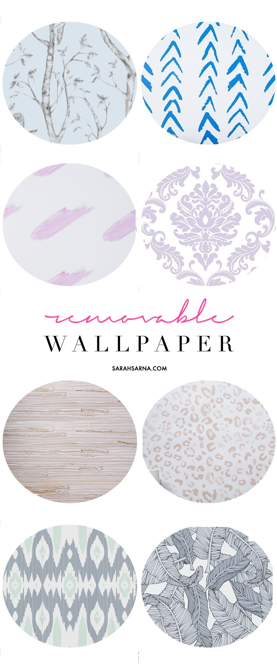 Decorating Made Easy: Removable Wallpaper. Apartment WallpaperRental  BathroomDorm RoomsBeautiful ... Part 40