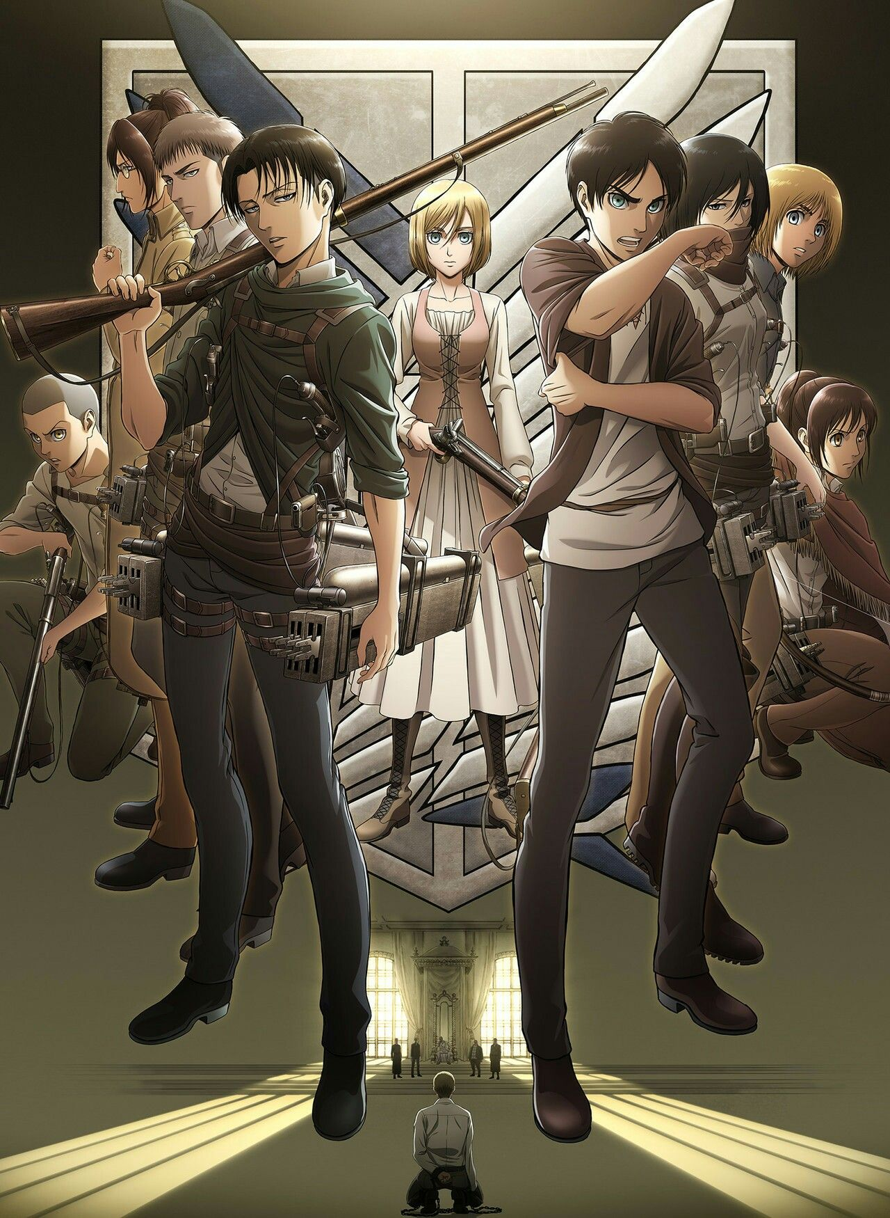 Attack on titan season 3 Kyojin, Shingeky, Shingeki no