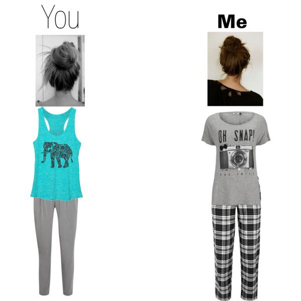 pjs by danielleburgett on Polyvore featuring beauty, ONLY and DKNY