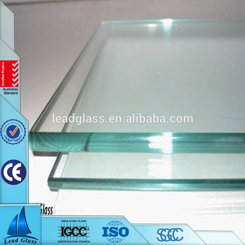 Chinese Good Sales 4mm 19mm Tempered Glass Sheet Price For Sliding