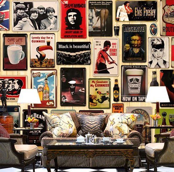 125 Best Man Cave Ideas Furniture Decor Pictures Retro Wall Decor Shabby Decor Home Wall Decor