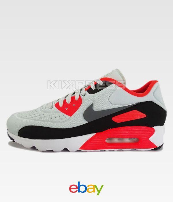  Nike Mens Air Max 90 EZ Running Shoes Pure