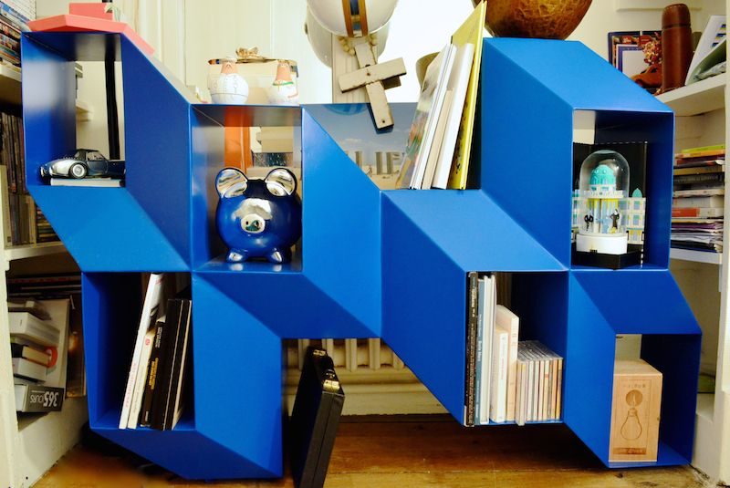 La Chance Rocky Credenza : Rocky credenza by charles kalpakian in an eclectic parisian