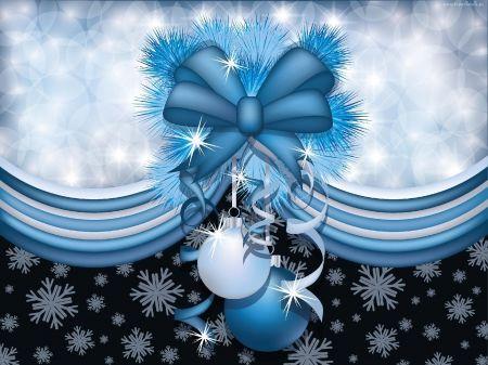 Elegant Of Blue Christmas