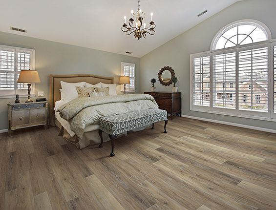 Woodford Oak Room Scene Luxury Vinyl Plank Flooring Luxury Vinyl Plank Vinyl Plank Flooring