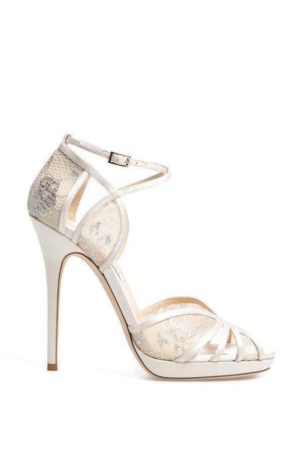 Jimmy Choo  Fayme  Lace Platform Sandal Chaussure fd827c34f7e