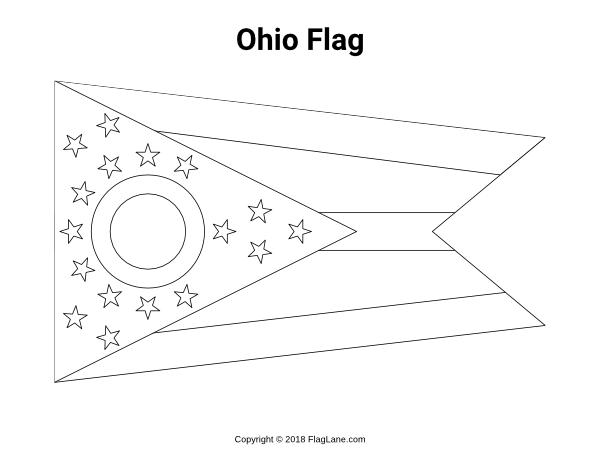 Free Printable Ohio Flag Coloring Page Download It At Https Flaglane Com Coloring Page Ohio Flag Ohio Flag Flag Coloring Pages Coloring Pages