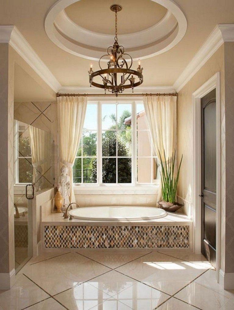 65 Elegant Master Bathroom Design Ideas For Amazing Homes Master Bathroom Design Elegant Master Bathroom Bathroom Remodel Master