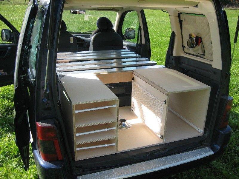 voitures amenag es pinterest campeur et. Black Bedroom Furniture Sets. Home Design Ideas